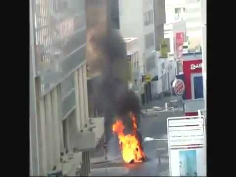 Rioters Terorists in Saudi BLOW UP shops in the City Center