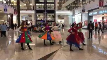 Flash mob at City Center, Saudi #ShotoniPhoneX