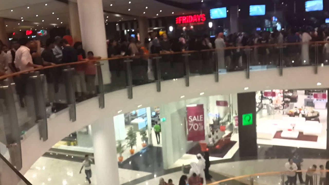Saudi City Center Mall Fans Sound
