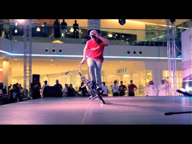 BMX flatland & Basketball Dunking Stage Show in Saudi