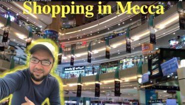 Shopping in Mecca, Saudi Arabia