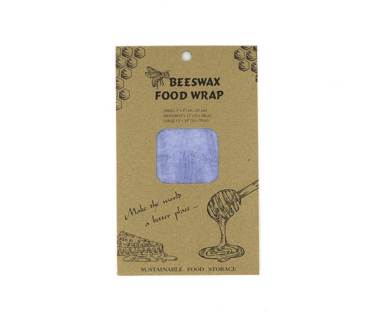 3 Piece Food Wrap Blue