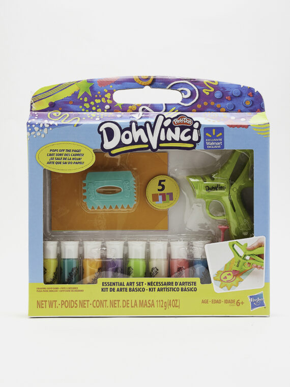 DohVinci Essential Art Set with 8 Colors Green Combo