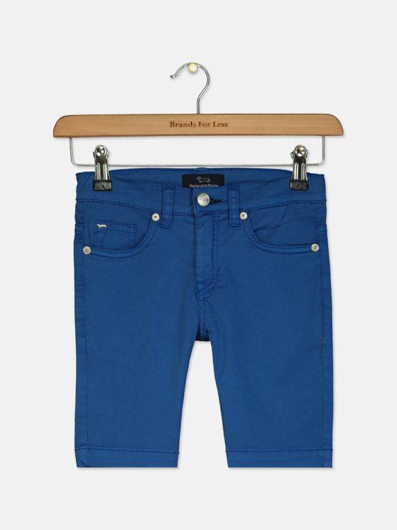 Kids Boys Bermuda Chino Short Blue
