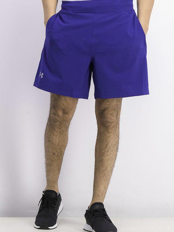 Mens Logo-Print Short Blue