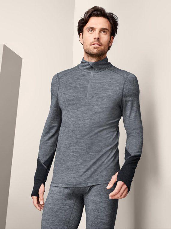 Mens Performance Top Grey