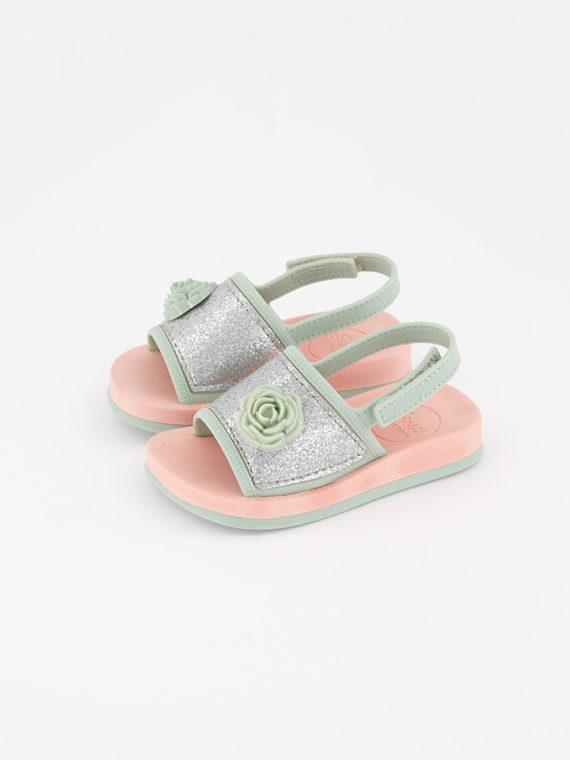 Toddlers Sense IV Sand Metallic Sandals Green