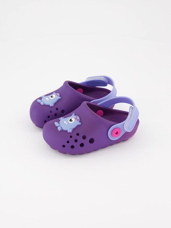 Toddlers Slingback Slipper Purple