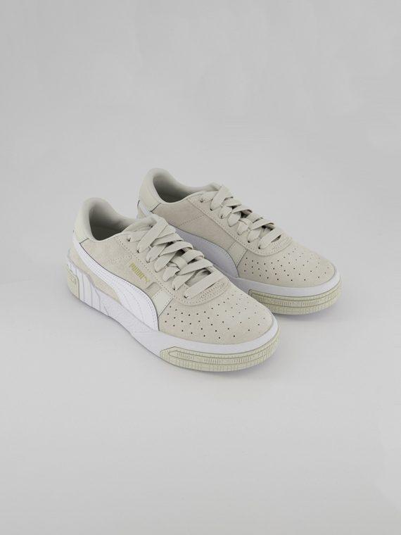 Womens Cali Taped Shoes Vaporous Gray/Metallic Gold
