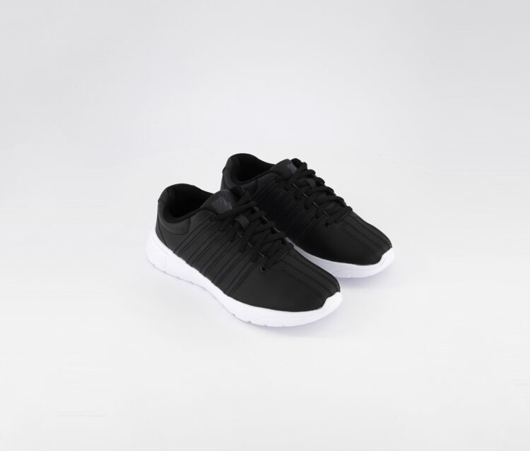 Womens Empel L Medium Sneaker Black/White