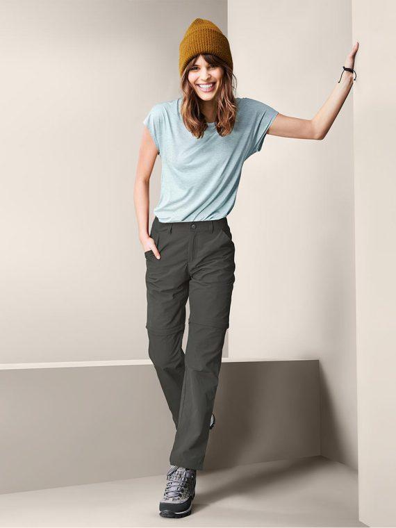 Womens Functional Pants Grey/Green