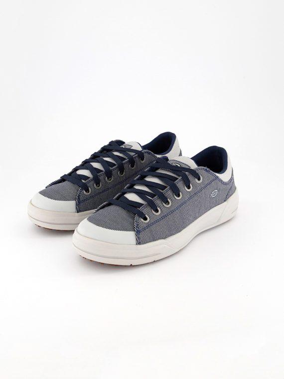 Womens Medium Hickory Stripe Supa Dupa Low Casual Shoes Navy/Grey
